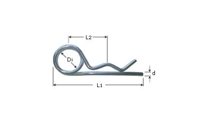 Teknisk tegning - Dobbeltsplitter - El-galvaniserede